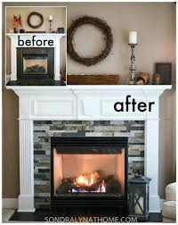 tile fireplace surround stone fireplace surround before and after glass tile fireplace surround ideas