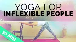 inflexible people. yoga for inflexible people e