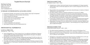Sample Targeted Resume Best of Employment Cv Examples 24 Thumb Targeted Cv Example Balance Pics