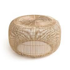 bangor bamboo coffee table la redoute