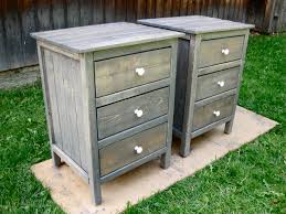 Diy Nightstand Ana White 3 Drawer Night Stands Diy Projects