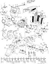 craftsman model 91725371 lawn tractor genuine parts