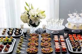 wedding party food ideas | ... party decors fabulous traditional buffet  table for wedding