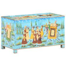 Turnhouse World Menagerie <b>Handpainted Storage Box</b>