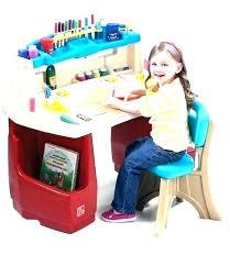 step2 studio art desk studio art desk with chair creative project table with stools step 2 step2 studio art desk