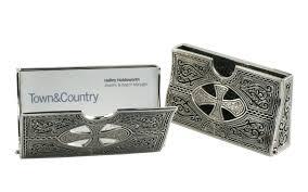enchanting sterling silver business card holder sterling silver business card holder silver mesh desk set 69