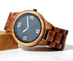 hawaiian gifts men s koa wood watch