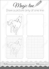 Vettoriale Libro Bianco E Nero Per Bambini Educazione Del Libro