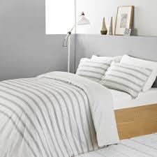 textile warehouse stripe grey king size duvet cover u0026 pillowcase set king size duvet 079