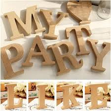 26 a z wooden letters alphabet wall