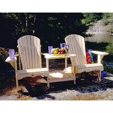 chair kits. bear chair tete-a-tete adirondack kit -pine-bc900 - adirondackchairoutlet kits