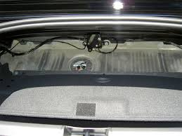chrysler crossfire convertible trunk space. chrysler crossfire convertible trunk space
