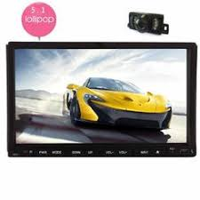 hd lcd 7inch touch screen double din in dash car stereo dvd player eincar android 5 1 double din car dvd player 7 inch touch screen gps navigation vehicle