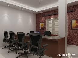office room interior. Attractive Office Room Interior Designs By Bibin