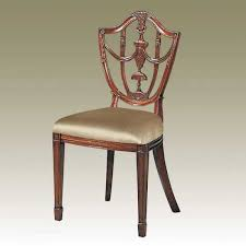 Maitland Smith Furniture Outlet High Quality Furniture - Shield back dining room chairs