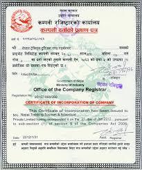 Document Company Companys Legal Document