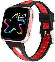 Milnnare Waterproof <b>Dual Color Silicone</b> Watchband Wrist Strap for ...