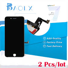 2pcs AAA Replacement For iphone 7 LCD 4.7 inch Screen Touch Digitizer Full  Assembly + Camera Holder Black/White Highscreen|screen touch|touch screen  digitizeraaa lcd - AliExpress