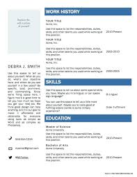Free Downloadable Resume Templates Wizard Updrill Co