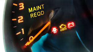 Toyota Corolla Maintenance Required Light On How To Reset Maintenance Required Light In A Toyota