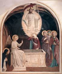 resurrection of christ and women at the tomb fra angelico start date 1440 completion style early renaissance genre religious painting technique fresco