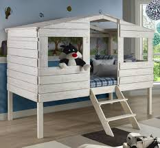 Twin Loft Bed Tree House by Donco Trading Co Wilcox Furniture