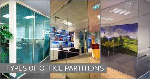 types of office partitions choosing