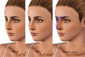 works great with all shapes and nose shapes works great with all skintones you can simply change the opacity and match the color with the skin