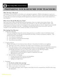 Sample Of Substitute Teacher Resume Download Now Objectives For