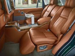 holland and holland range rover seats