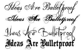 Fonts For Tattoos Latest Tattoo Fonts And New Tattoo Fonts Design Tattoo Fonts