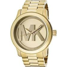 michael kors runway gold plated stainless steel bracelet watch michael kors runway gold plated stainless steel bracelet watch 45mm mk5473 unclaimed diamonds