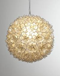 inspiration house extraordinary round capiz shell chandelier best home decor ideas how to hang intended
