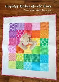 Easy Ways To Make Baby Blankets Easy Homemade Baby Blankets 40 ... & Easy Ways To Make Baby Blankets Easy Homemade Baby Blankets 40 Easy Quilt  Patterns For The Adamdwight.com
