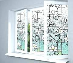decorative windows home depot frosted contact paper for windows home depot static cling window tint home
