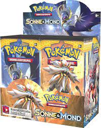 Pokémon Sun & Moon Series 1 – Booster Pack – German Edition (36 Boosters):  Amazon.de: Toys & Games