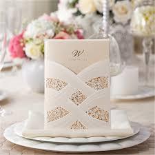 paper for invitations champagne