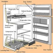 diy troubleshooting guide for your refrigerator removeandreplace com refrigerator parts location diagram