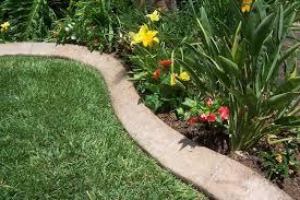 garden edger. How To Make Concrete Garden Edging Edger