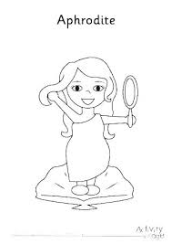 Aphrodite Coloring Pages2 Page 7 Coloring Pages