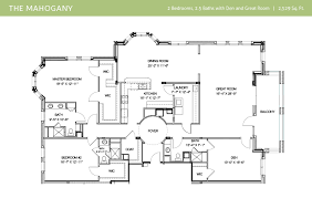floor plan larger two bedroom homes range in size from 2 300 to 3 800 square feet each with its own variations and views