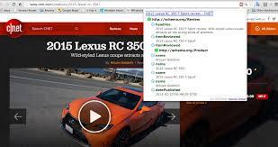 Cnet Web Design Software Reviews 2015 Lexus Rc 350 F Sport Review Wild Styled Lexus Coupe