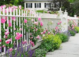best color to paint a garden fence
