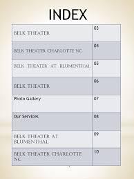 Belk Theater At Blumenthal Anyflip