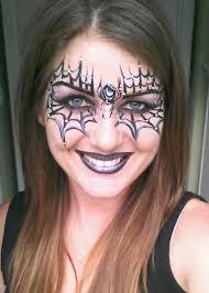 spider web face paint ideas