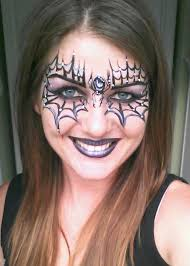 spider web face paint ideas spider web halloween face makeup