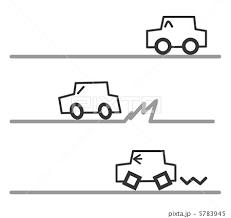 暴走 車 可愛い 挿し絵のイラスト素材 Pixta