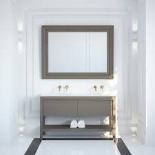 lusso stone dorchester grey oak bathroom double vanity unit 1500 vanity units