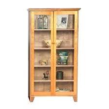 glass door bookshelf bookshelves custom shaker bookcase full doors antique sliding glass door bookshelf
