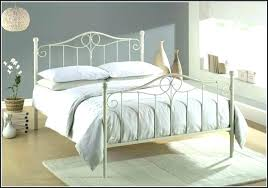 White Wrought Iron Queen Bed Iron Beds Queen Size White Wrought Iron ...